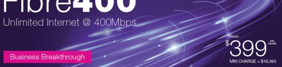 TPG Super Fast Internet Unlimited 400Mbps